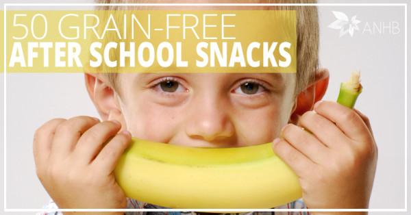 50 Grain-Free After School Snacks