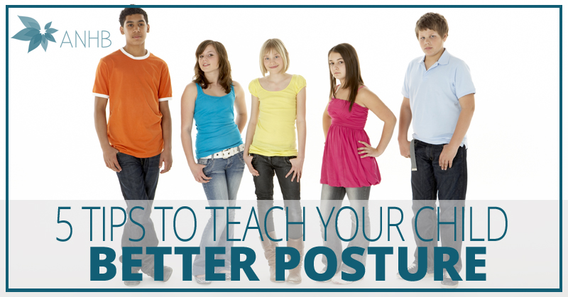 5 Tips to Teach Your Child Better Posture