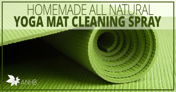 Homemade All Natural Yoga Mat Cleaning Spray