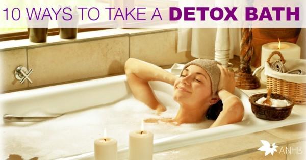 10 Ways to Take a Detox Bath