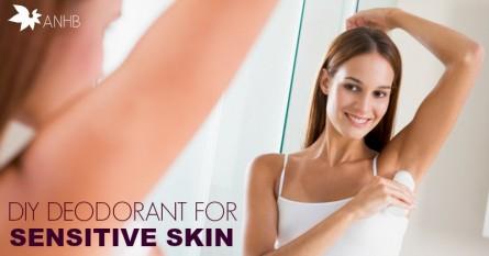 DIY Deodorant for Sensitive Skin