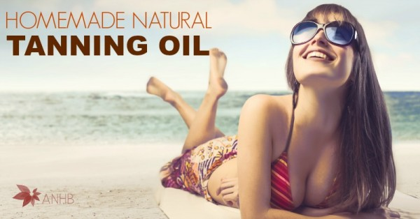 Homemade Natural Tanning Oil