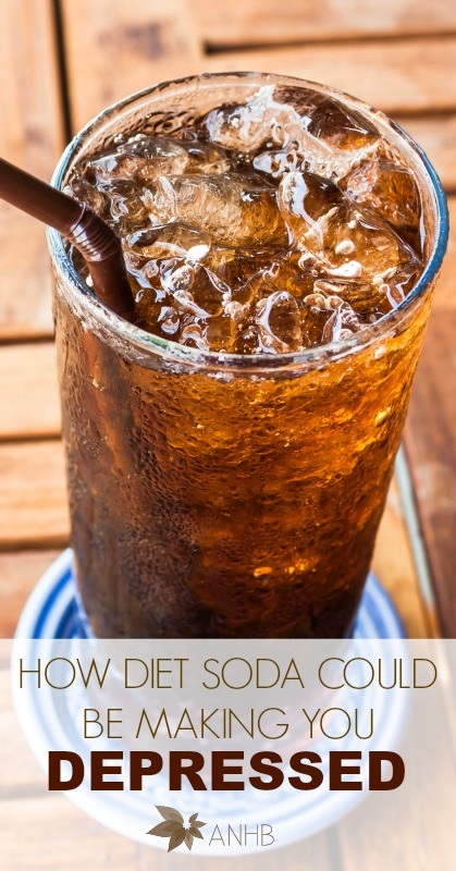 How DIet SOda Could Be Making You Depressed #depression #soda #dietsoda #health #naturalhealth