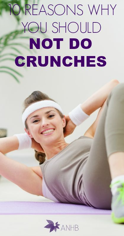10 Reasons WHy You Should Not Do Crunches #crunches #fitness #situps #abs #health #crunches