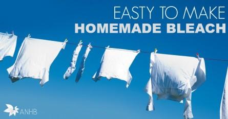 Easy to Make Homemade Bleach