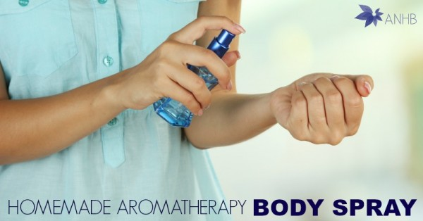 Homemade Aromatherapy Body Spray