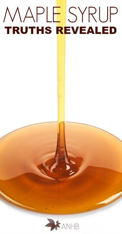 Maple Syrup Truths Revealed #Nutrition #health #natural #sweeteners #realfood