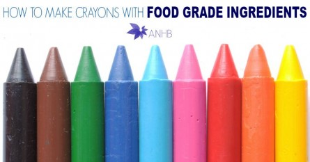 How to Make Crayons with Food Grade Ingredients