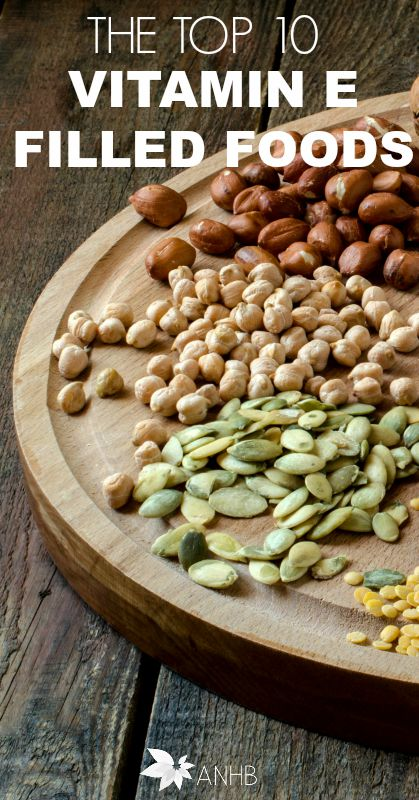 The Top 10 Vitamin E Filled Foods #health #realfood #healthy #vitaminE #healthyliving