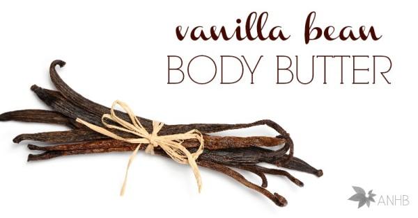 Homemade Vanilla Bean Body Butter Recipe