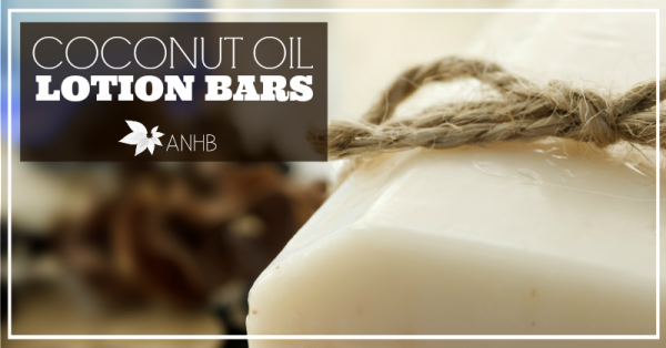 DIY Coconut Oil Lotion Bars