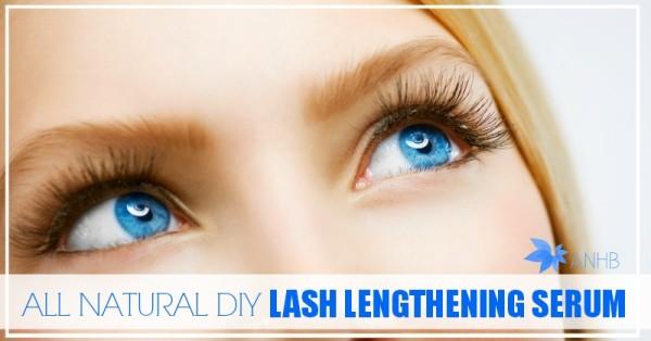 All Natural Lash Lengthening Serum
