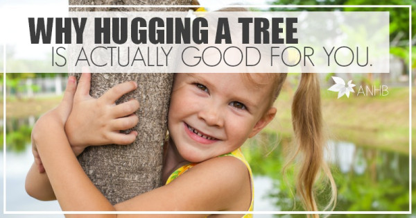 Learn Why Hugging A Tree Is Actually Good For You