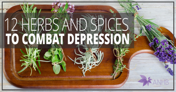 12 Herbs and Spices to Combat Depression