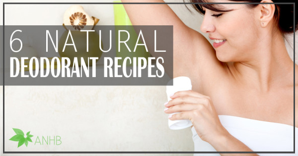 6 Natural Deodorant Recipes