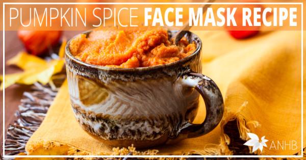 Pumpkin Spice Face Mask Recipe