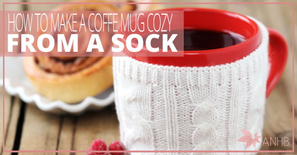 How to Make a Coffee Mug Cozy From a Sock