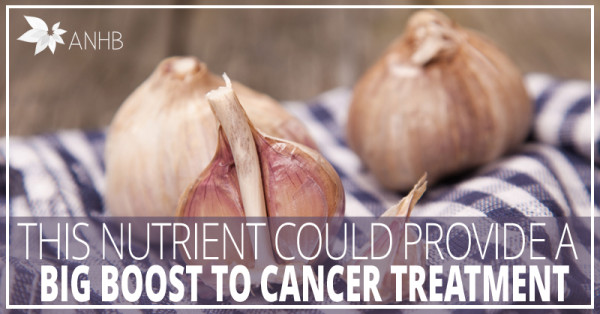 This Nutrient Could Provide a Big Boost to Cancer Treatment