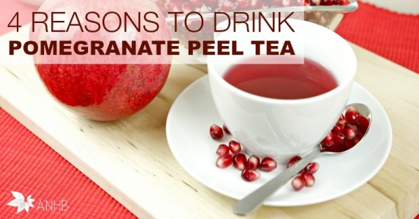 4 Reasons to Drink Pomegranate Peel Tea