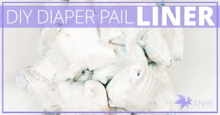 DIY Diaper Pail Liner