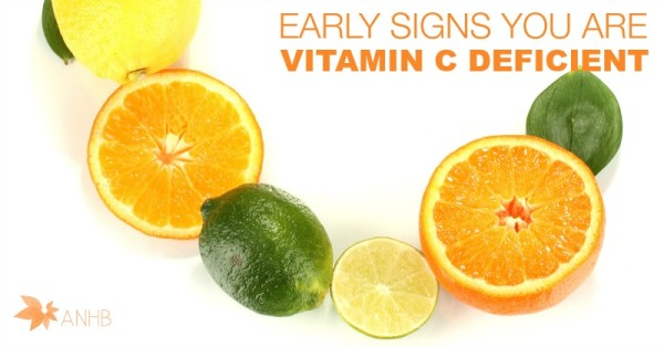 Early Signs You are Vitamin C Deficient