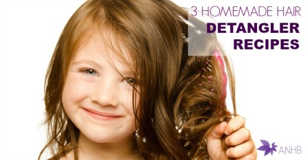 3 Homemade Hair Detangler Recipes