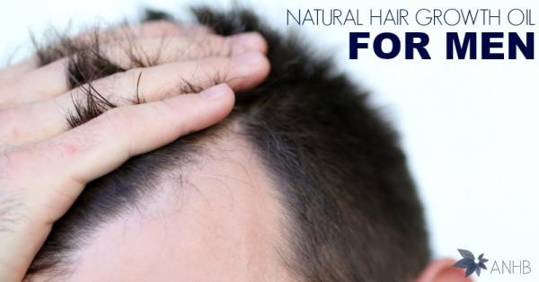Natural Hair Growth Oil for Men