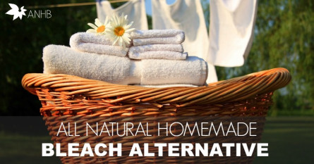 All Natural Homemade Bleach Alternative