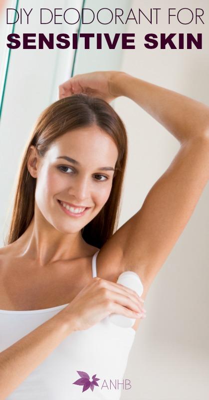 DIY Deodorant for Sensitive Skin #allnatural #bodycare #deodorant #sensitiveskin