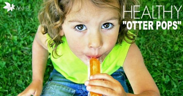 "Healthy ""Otter Pops"""