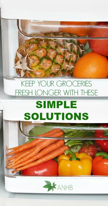 Keep Your Groceries Fresh Longer With These Simple Solutions #groceries #fresh #produce