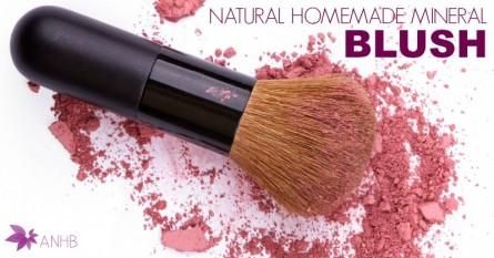Natural Homemade Mineral Blush