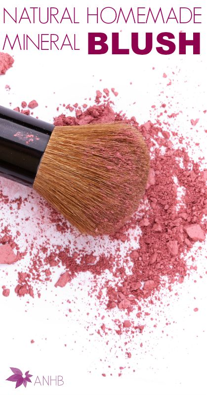 Natural Homemade Mineral Blush #homemade #mineral #Natural #makeup #blush #Naturalbeauty